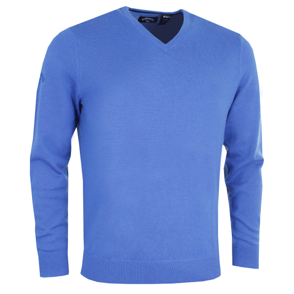Callaway Ribbed V-Neck Merino Golf Sweater CGGS80Z2