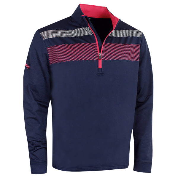 Callaway Golf 1/4 Zip Blocked Opti-Dri UV Repel Stretch Pullover CGKS80R4
