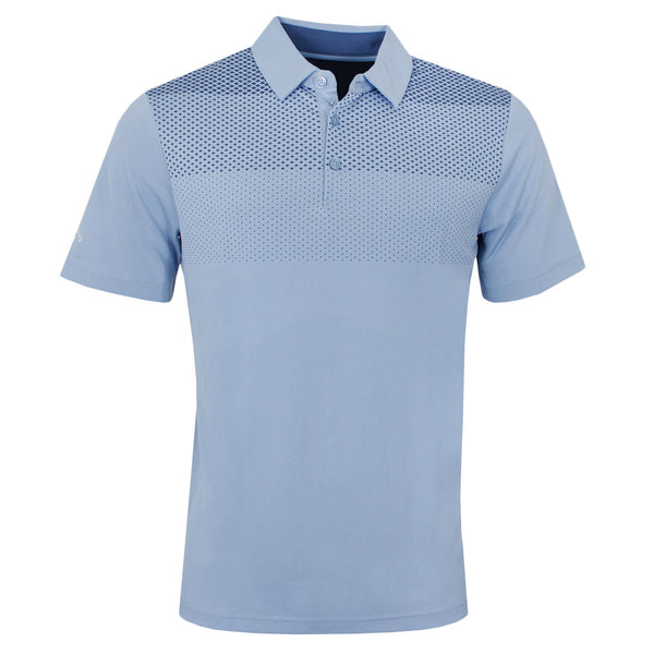 Callaway Golf Mens Jacquard Print Polo Shirt