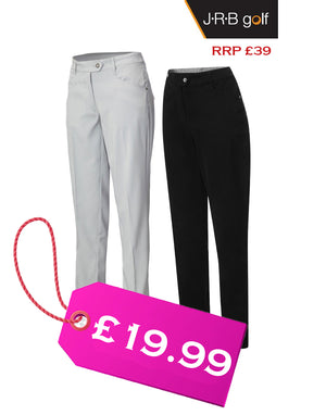JRB WOMEN'S GOLF CHINO TROUSERS - Free Beanie