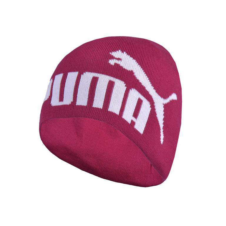 New Puma Adults Unisex Sports Tour No.1 Logo Beanie 830128 05 Cerise