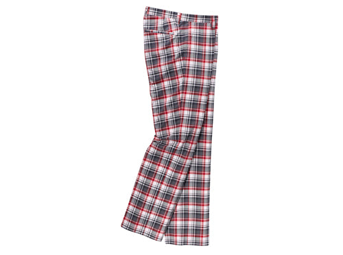 Lobster Donald Black Red Check Golf Trousers