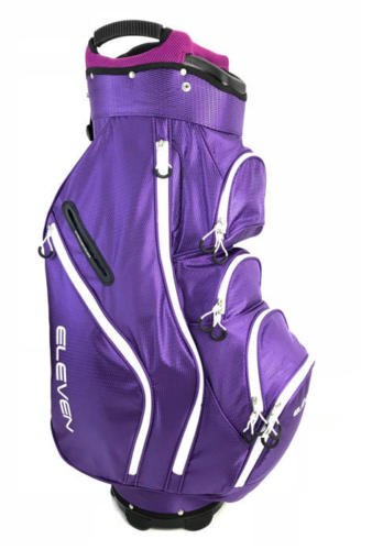 Eleven Golf Tour Lightweight Cart Trolley Bag 15 Way Divider - Men,s & Ladies