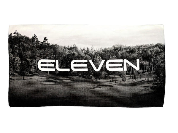 ELEVEN 2018 Golf Tour Black Out Large Microfibre Bag Towel Limited Edition