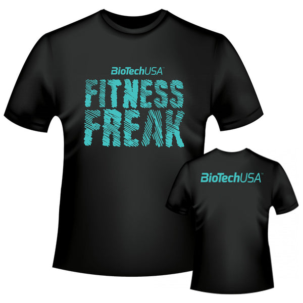BioTech USA Fitness Freak Gym Tee Shirt