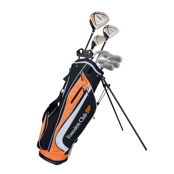 Founders Club The Judge Mens Complete Golf Set - Graphite/Steel