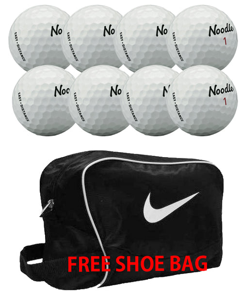 Noodle Easy Distance 1 Dozen Golf Balls FREE Nike Brasilia Sports Shoe Bag/ Accessory Bag