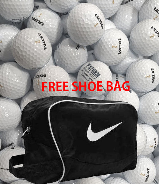 Wilson Ultra 1 Dozen Golf Balls FREE Nike Brasilia Sports Shoe Bag/ Accessory Bag
