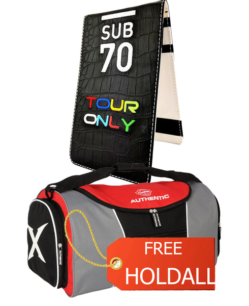 Limited Edition Sub70 Tour Flip Scorecard Holder Tour Only FREE HOLDALL