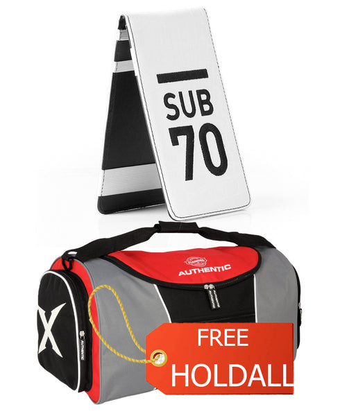 Limited Edition Sub70 Tour Flip Scorecard Holder Black/White FREE HOLDALL