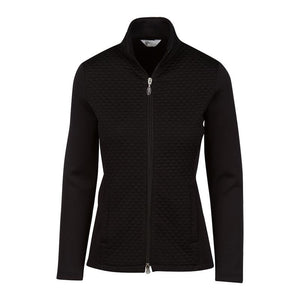 GREG NORMAN WOMEN'S JACQUARD KNIT JACKET