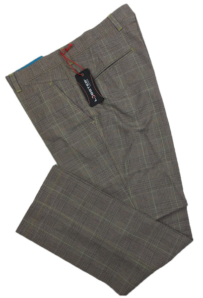 Lobster Tour Gunner Colour Check Plaid Golf Trousers (B)