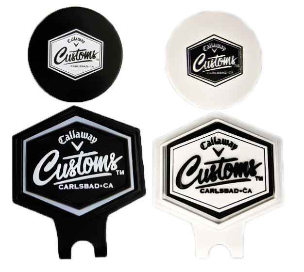 New 2019 Callaway Golf Tour Issue Customs Hat Cap Clip Ball Marker - Free Pouch. Buy 1 Get 1 Free
