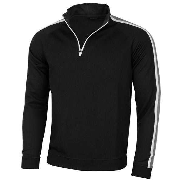 Island Green Mens 1/2 Zip Rib Neck Golf Top IGTOP1726