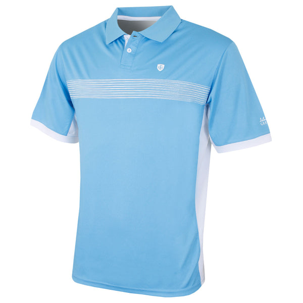 Island Green Mesh Panel Coolpass Polo Shirt IGTS1649