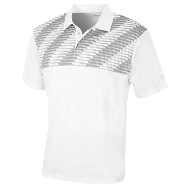 Island Green Mens Snaps Placket CoolPass Golf Polo Shirt IGTS1653