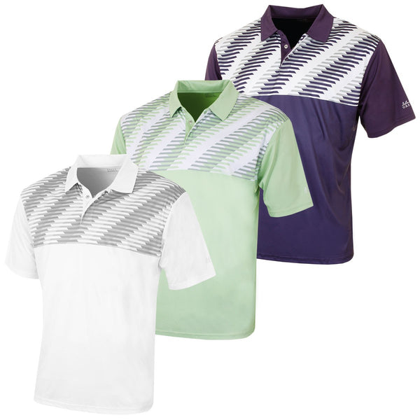 Island Green IGTS1653 Mens Golf Polo Shirt
