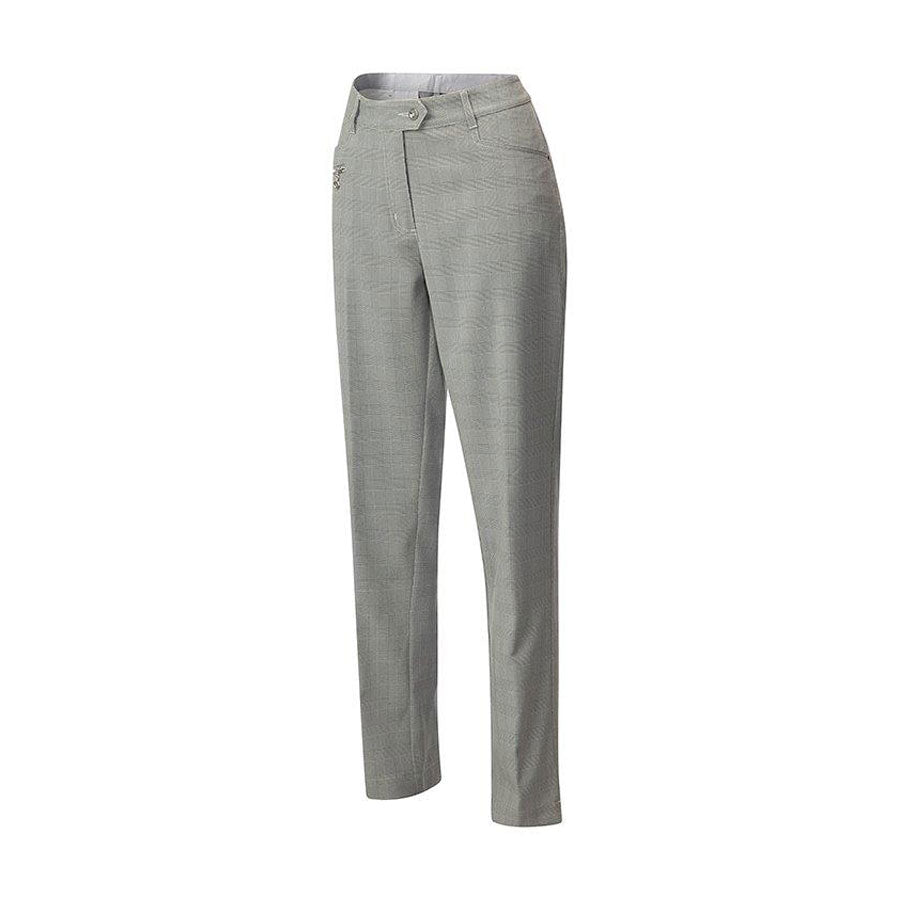 JRB WOMEN'S GOLF DRY-FIT TROUSERS - PRINCE OF WALES CHECK FREE BEANIE