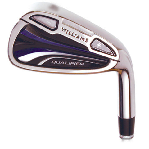 Williams F1 Golf Qualifier Players Series Iron Set 5-PW FREE MR 4 HYBRID