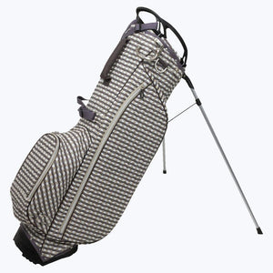 Ladies OUUL Check Wave Collection Stand Bag