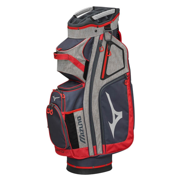 Mizuno BR-D4 Golf  Premium  Cart Bag Grey Red