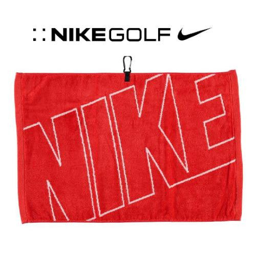 Nike Jacquard Cotton Velour Golf Towel + FREE Taylormade Pitch Folk