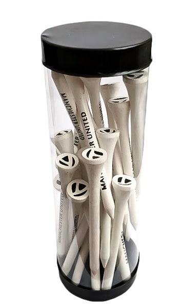 Taylormade Man United Golf Tees x25 in Gift Tube