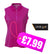 New Jrb Sleeveless Pique Polo Shirt - Purple Orchid