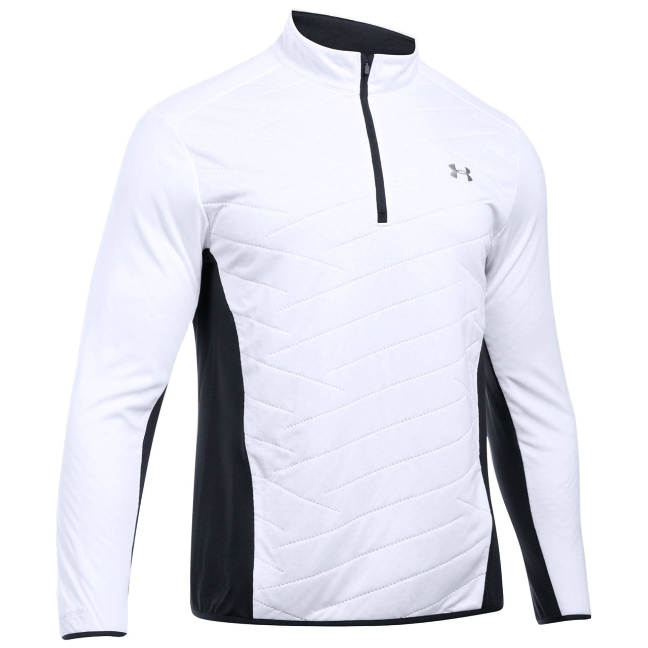 UNDER ARMOUR MENS REACTOR HYBRID HALF ZIP TOP