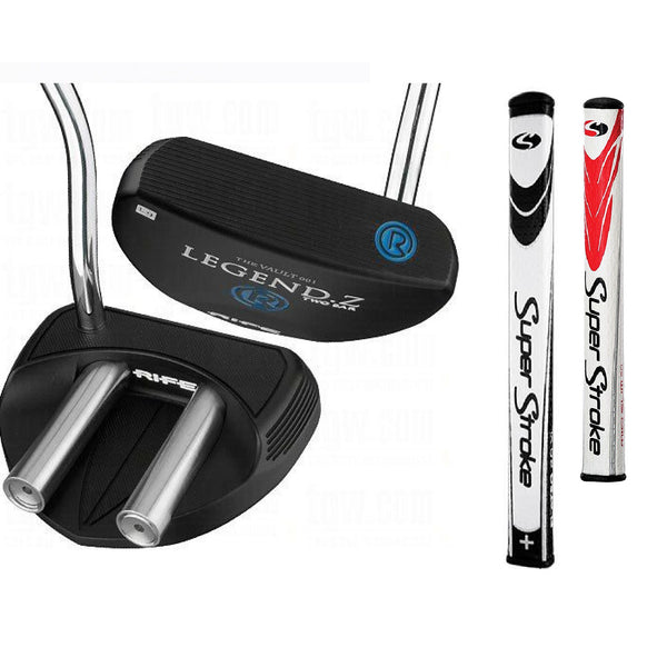 Rife Legend Z Two Bar Black Putter
