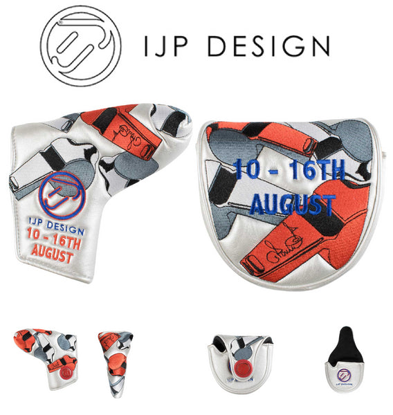 Ian Poulter Golf Putter Head Cover Limited Edition PGA Championship