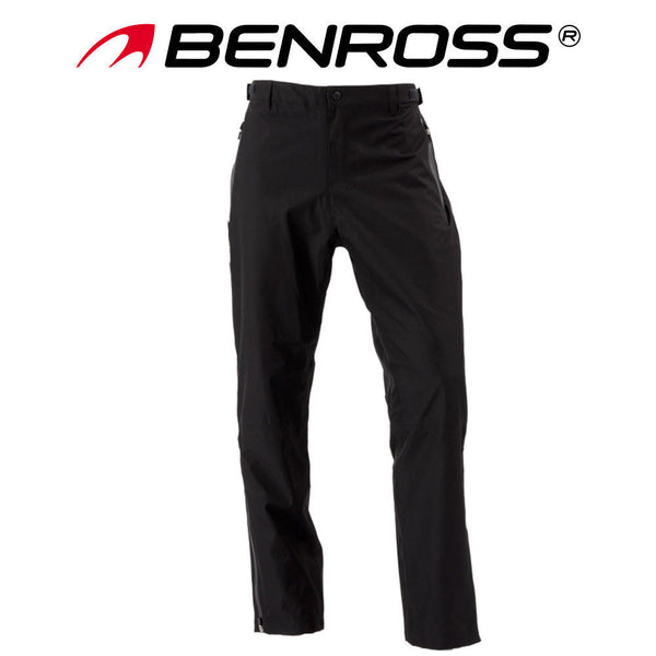 Mens Benross Hydro Pro X Waterpoof Adjustable Trousers Black