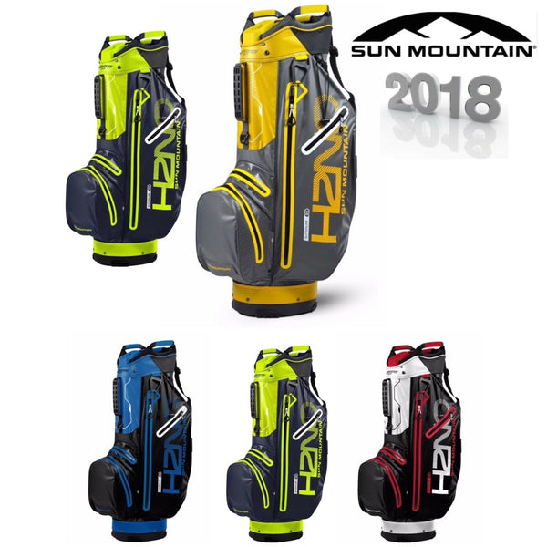 SUN MOUNTAIN 2018 H2NO SUPERLITE WATERPROOF GOLF CART / TROLLEY BAG