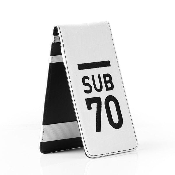 Limited Edition Sub70 Tour Flip Scorecard Holder Black/White