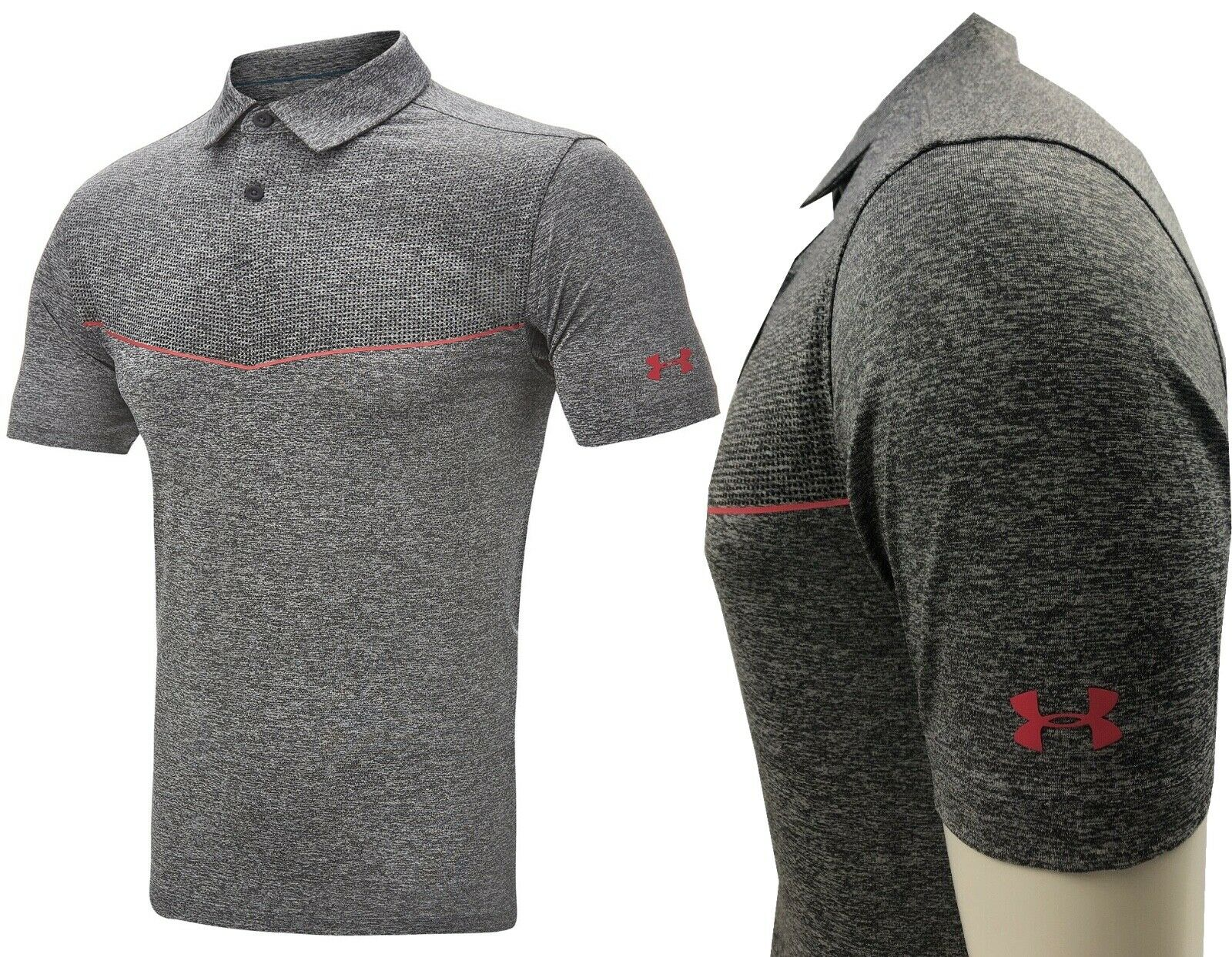 Under Armour UA Cool Switch Graphic Golf Polo Shirt