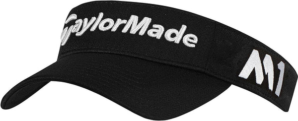 New Taylormade Tour M1-M2 Black Golf Visor Adjustable