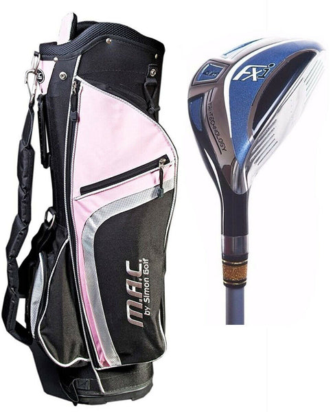 Ladies Ram Golf Rescue Hybrid 5-23 degree Club Free Lightweight Cart Bag