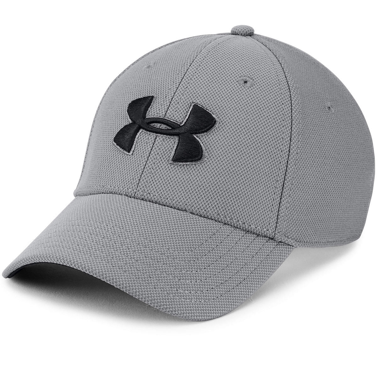 37ad310843 Under Armour Mens Blitzing 3.0 Golf Stretch Fit Curved Peak Hat Cap ...