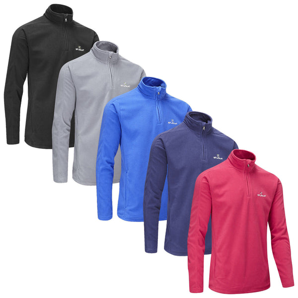 Stuburt Mens Urban Quarter Zip Fleece Golf Pullover