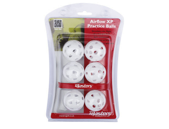 MASTERS GOLF AIRFLOW XP PRACTICE BALLS