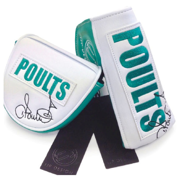 Ian Poulter IJP Tour Issue Limited Edition Putter Covers