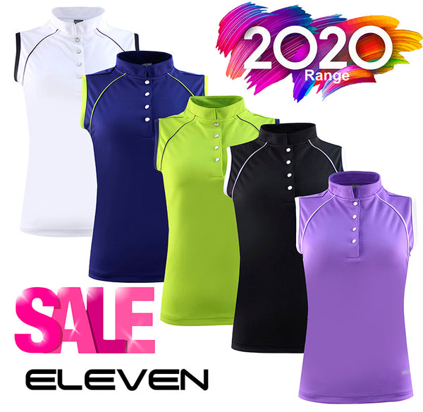 Eleven 2020 Golf  Rochelle Sleeveless Polo Shirt