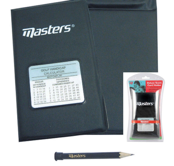 Masters Deluxe Scorecard Holder With Handicap Chart