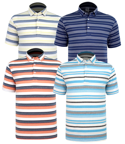 2020 Sub70 Tour Classic Stripe Polo Shirt