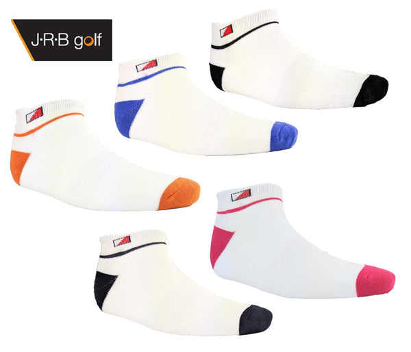 2019 Ladies Jrb Padded Ankle Socks - 2 Pair Pack