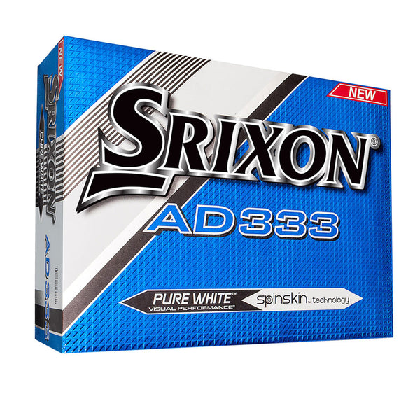 Srixon Golf AD333 Distance & Control Golf Balls 1 Dozen - White