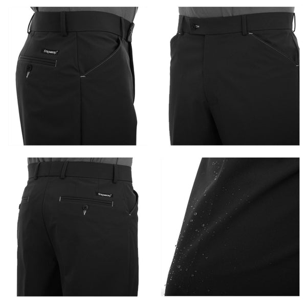 Stromberg Wintra Mens Winter Golf Trousers - Black