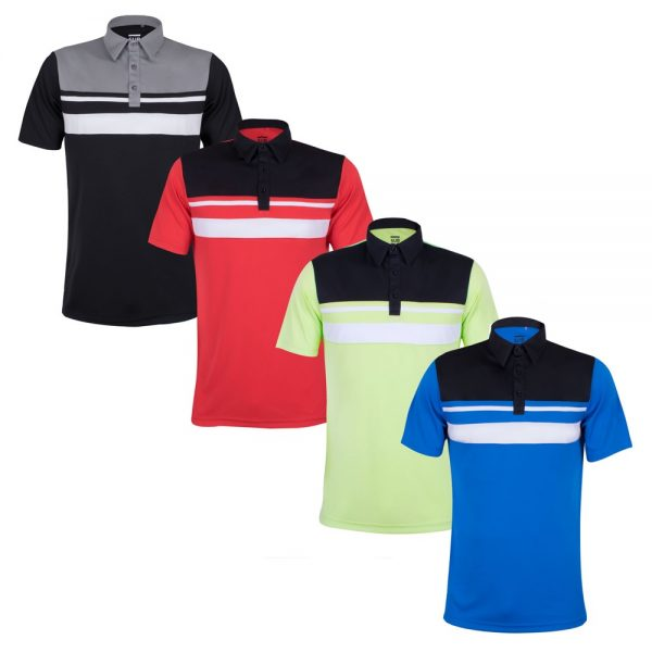 Sub70 Birkdale Performance Polo Shirt + FREE Carry Case