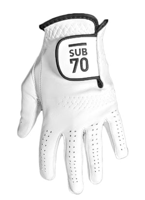 New 2020 Sub70 Tour Cabretta Soft Leather Golf Gloves Pack Of 3 S-XXL White