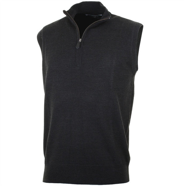 Sunice Golf Mens Waterloo Raker Water Repellent Merino Golf Vest